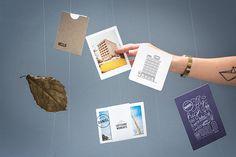 Daniel LoftCube Mailing - Branding on Behance Layout Inspiration, Packaging Design Inspiration, Design Ideas, Corporate Identity, Brand Identity, Hotel Daniel, Web Design, Branding, Web Layout