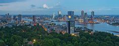 Panorama Rotterdam / Euromast / Augustus 2013 door Rob de Voogd / zzapback.