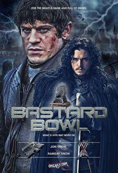Game of Thrones Bastard Bowl Poster