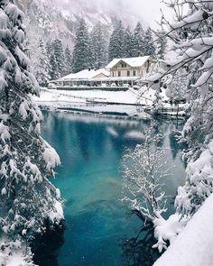 Natural Park Blausee, Switzerland