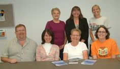 This is a Sunday School class from Reynoldsburg United Methodist Church in Ohio who just finished going through The Sacred Echo 6-Week DVD Study. Tim, Margie, Judy, Amy, Wilma, Patti, and Kathryn had a wonderful time diving into God's Word and enjoying fellowship with each other!