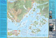 Broken Group/Barkley Sound Waterproof Marine Trail Mapsheet – Wild Coast Publishing