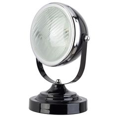 Stoere koplamp lamp voor op de tafel, dressoir of in de kinderkamer! Price € 24,95