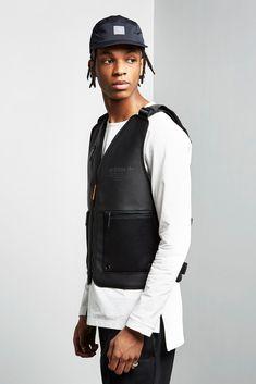 adidas Reveals a Badass New Collection of Accessories Dope Fashion, Urban Fashion, Mens Fashion, Street Fashion, Biker Vest, Vest Jacket, Air Jordan 3, Merchandise Bags, Flak Jacket