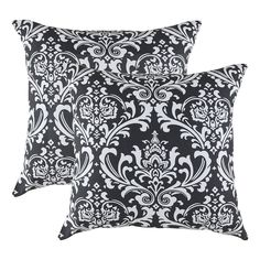 Deconovo Linen Embroidered Vintage Floral Cushion Covers