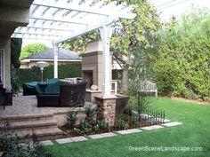 Nice patio w/pergola