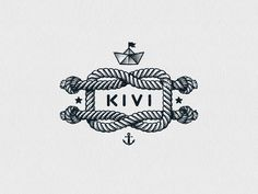 Hey there! Here's one of the logos created for the KIWI brand we'd like to show you. Follow us on Behance   Facebook   Instagram   Twitter