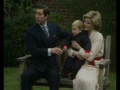 Prince Charles and Princess Diana with a young Prince William Diana Son, Lady Diana Spencer, Prince Charles And Diana, Prince William, Princesa Diana, Prince And Princess, Princess Of Wales, Royal Video, Prinz Charles