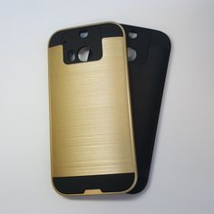 HTC One M8 - Slim Sleek Brush Metal Case - 6.45$