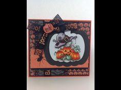 Halloween Card #13 - YouTube