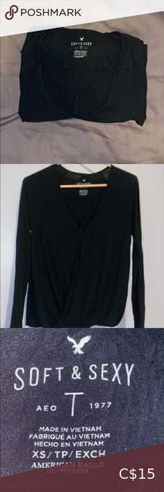 AE Longsleeve American Eagle Longsleeve. Size XS but fits XS-M. Super soft and in good condition American Eagle Outfitters Tops Tees - Long Sleeve Vietnam, Champion Shirt, American Eagle Shirts, American Eagle Outfitters Tops, Sexy, Long Sleeve Tops, Button Up Shirts, Sleeves, Mens Tops