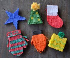 Mini Pinata Ornament Workshop #casaartelexia