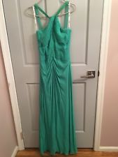 Tadashi Jade Green Gown/Prom Dress Size 6