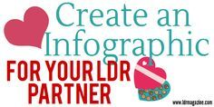 Make a special Infographic for your partner like these LDR Couples did!