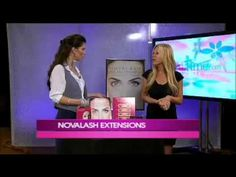 NovaLash's Celebrity Choice Lash Artist, Alicia Hunter, featured on The Daily Buzz -- watch a live demonstration!