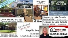 Angella Lee is our Lake Lot specialist in Oklahoma. Home Place Real Estate www.homeplace.pro