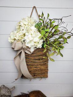 View All Products – FarmHouse Florals Front Door Decor, Wreaths For Front Door, Door Wreaths, Summer Deco, Deco Nature, Deco Boheme, Spring Door, Deco Floral, Summer Wreath