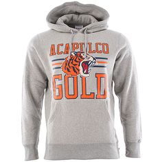 Acalpulco Gold Ag Tiger Pullover Hoody - Heather Grey