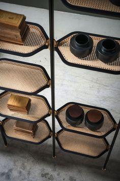 52 super Ideas for storage shelves living room cabinets Cane Furniture, Furniture Design, Furniture Legs, Barbie Furniture, Garden Furniture, Furniture Projects, Furniture Makeover, Shelf Design, Cabinet Design