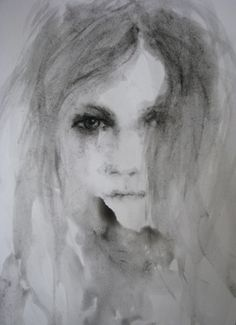 "Saatchi Online Artist Fiona Maclean; Painting, ""Winnie - from The Beautiful Creatures series"" #art"