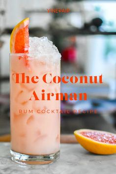Craft Cocktails, Party Drinks, Fun Drinks, Alcoholic Drinks, Beverages, Fun Summer Drinks Alcohol, Rum Cocktail Recipes, Alcohol Drink Recipes, Cocktail Drinks