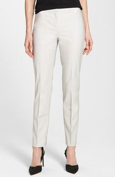 NIC+ZOE NIC+ZOE 'The Perfect' Ankle Pants (Regular & Petite) available at #Nordstrom