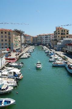 Livorno, Italy -- coastal Tuscany