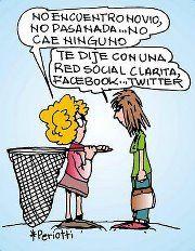 Jajajajajaja! ¿Ligas en 1.0 ó 2.0? No encuentro novio... #redessociales #chistes