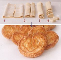 Easy Peasy Palmiers