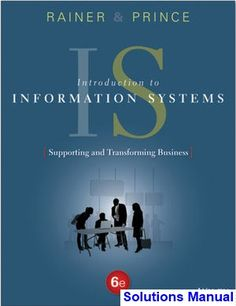 Solution manual for contemporary financial management 13th edition introduction to information systems 6th edition rainer solutions manual test bank solutions manual fandeluxe Image collections
