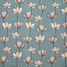 print & pattern john lewis blue and white Motifs Textiles, Textile Patterns, Textile Prints, Flower Patterns, Color Patterns, Print Patterns, Art Prints, Boho Pattern, Pattern Art