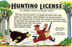 Funny postcard 1950's. Hagins collection.