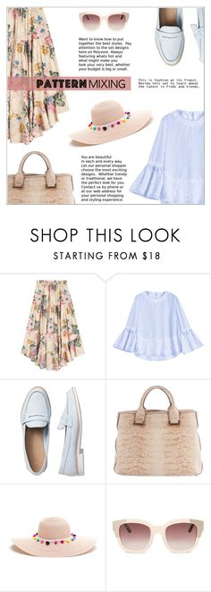 """Pattern Mixing: Casual Chic"" by shambala-379 ❤ liked on Polyvore featuring Gap and Rachel Zoe"