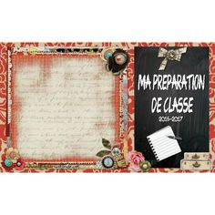 1 cahier: Planification, compilation notes, etc...