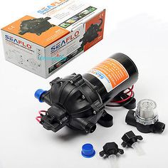49534 boat-parts 5GPM 18.9L/Min 60PSI DC 12V Marine Diaphragm Water Sprayer Pump Self Priming US  BUY IT NOW ONLY  $67.99 5GPM 18.9L/Min 60PSI DC 12V Marine Diaphragm Water Sprayer Pump Self Priming US...