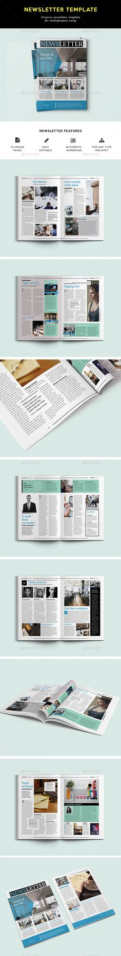 Business Newsletter A4 Newsletter templates, A4 and Template - free business newsletter templates