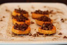 Cinnamon Butter  Pecan Sweet Potato Bites {Paleo & Gluten Free Recipe}
