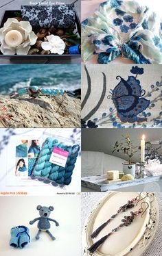 Summer blue by Nathalie on Etsy--Pinned with TreasuryPin.com