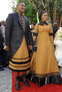 Latest news from South Africa, World, Politics, Entertainment and Lifestyle. African Traditions, African Traditional Dresses, Latest African Fashion Dresses, African Design, African Attire, Work Pants, Red Carpet, Saree, Bridal