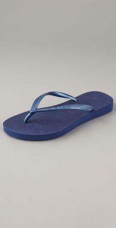 Havaianas Slim Flip Flops - StyleSays