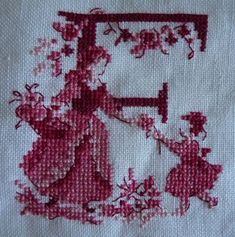 Cross Stitch Art, Cross Stitch Alphabet, Cross Stitch Samplers, Cross Stitch Designs, Cross Stitching, Cross Stitch Patterns, Name Embroidery, Embroidery Alphabet, Cross Stitch Embroidery