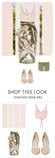 """""""Doubt"""" by susy-v ❤ liked on Polyvore featuring Elizabeth and James, Johanna Ortiz, Steve Madden and susyset"""