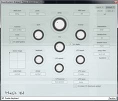 Thesis 2 free granular delay effect plug-in for Windows. http://www.vstplanet.com/News/2014/Thesis-2-granular-delay-is-now-free.htm