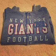 Selling this New York Giants Zip-up Hoodie in my Poshmark closet! My username is: connolc2. #shopmycloset #poshmark #fashion #shopping #style #forsale #Tops