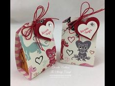 In this video I will use the Sweet Spring Printed Papers and the Tag Element stamp set to create a fun little treat holder for Valentine's Day. Supplies can ...