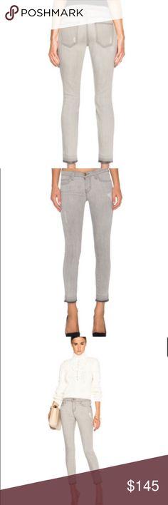 Current Elliott Dillion distressed gray jeans Current Elliott Dillion distressed gray jeans Current/Elliott Jeans