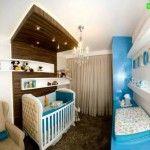 (Foto: casa.abril.com.br) #quarto #infantil #madeira #azul