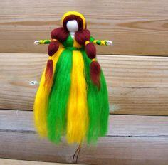 Buttercup Waldorf princess Christmas elf by elfkendalfairies