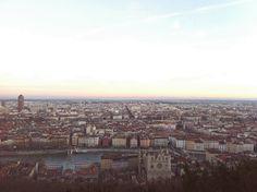La città vista da Notre Dame de Fourviere