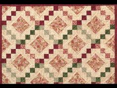 How to Make an Easy Irish Chain Quilt - Beginner Quilting Tutorial with Leah Day Quilting For Beginners, Quilting Tutorials, Beginner Quilting, Quilting Projects, Half Square Triangle Quilts, Square Quilt, Quilt Kits, Quilt Blocks, Irish Chain Quilt